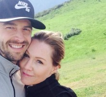 Jennie Garth Celebrates Celebrity Engagement with Dave Abrams