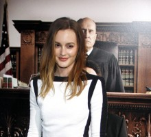 Celebrity News: Leighton Meester Says She's Never Been Dumped