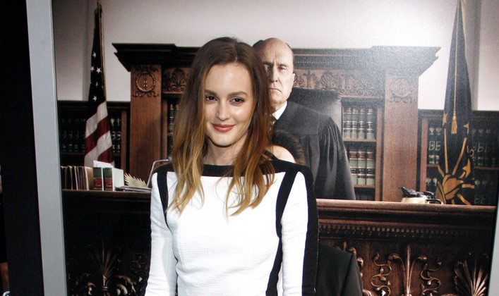 Cupid's Pulse Article: Celebrity News: Leighton Meester Says She's Never Been Dumped
