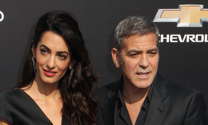 Cupid's Pulse Article: Famous Couple George and Amal Clooney Have Family Dinner in Italy