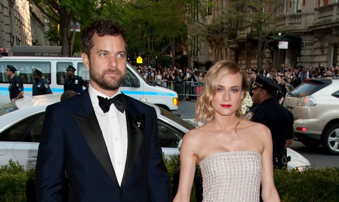 Joshua Jackson and Diane Kruger. Photo: Janet Mayer / PRPhotos.com