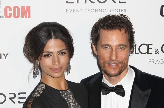 Cupid's Pulse Article: Matthew McConaughey Credits Celebrity Wife Camila Alves for His Happiness