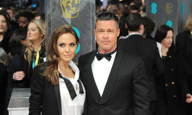 Cupid's Pulse Article: Famous Couple Angelina Jolie and Brad Pitt Are House Hunting in London