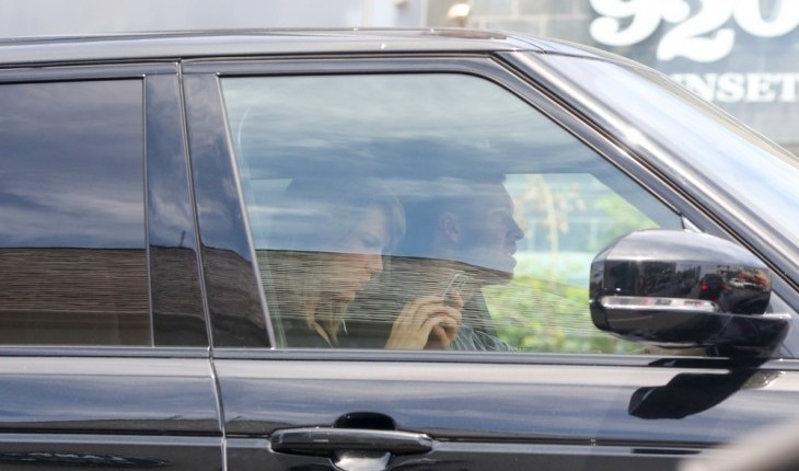 Cupid's Pulse Article: Rumored Hollywood Couple Taylor Swift and Calvin Harris Are Caught Leaving Her House Together