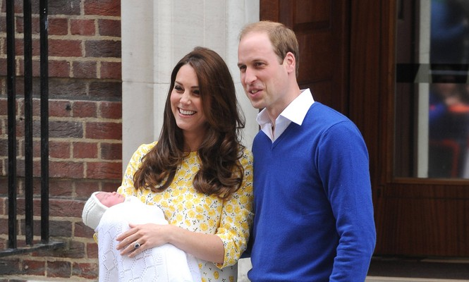 Cupid's Pulse Article: Famous Couple Kate Middleton and Prince William Introduce New Baby Girl Outside St. Mary's Hospital