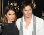 Celebrity Couple Nikki Reed and Ian Somerhalder Step Out for First Time Since Welcoming Daughter