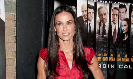 Cupid's Pulse Article: Celebrity News: Demi Moore Suffered Miscarriage at 6 Months Pregnant While Dating Ashton Kutcher