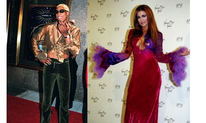 From 'I Do' to Divorce: Shortest Hollywood Marriages: Dennis Rodman and Carmen Electra