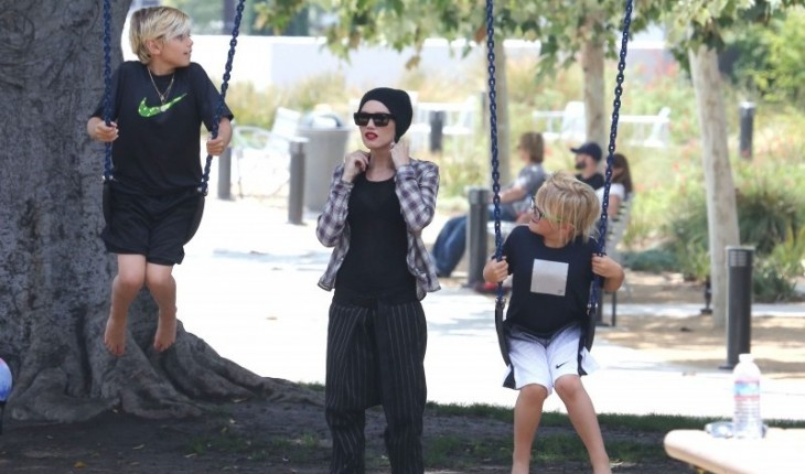 20 Fashionable Celebrity Moms: Gwen Stefani