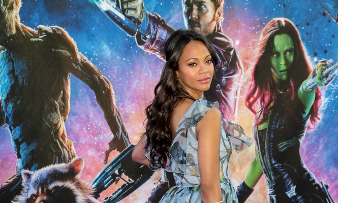 Cupid's Pulse Article: Zoe Saldana Says Studios Panicked When She Announced Celebrity Pregnancy