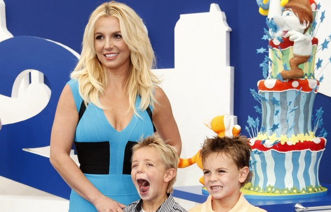 Britney Spears and sons. Photo: PR Photos