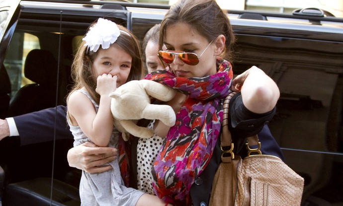 Celebrity Couples and Their Trendsetting Kids: Suri Cruise