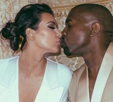 Celebrity News: Kim Kardashian Tweets 'Wish Your Were Here' to Kanye West from Met Gala