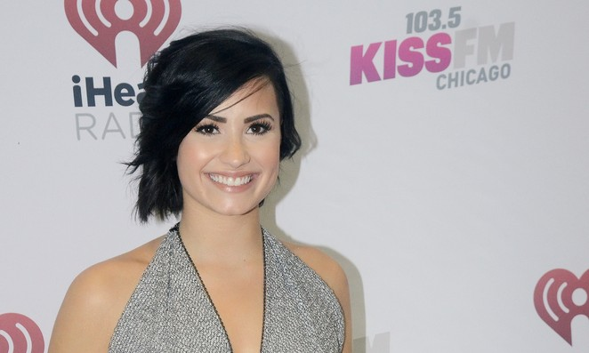 Cupid's Pulse Article: Demi Lovato Hints that Celebrity Love Wilmer Valderrama Loves Her Curves