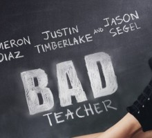 'Bad Teacher' with Cameron Diaz, Justin Timberlake and Jason Segel
