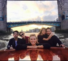 Taylor Swift Gestures to New Celebrity Love Calvin Harris at Dublin Concert