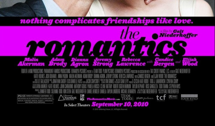Cupid's Pulse Article: 'The Romantics' Starring Katie Holmes, Anna Paquin, Elijah Wood & More
