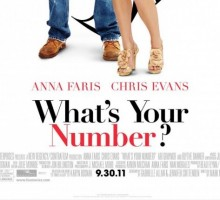 What's Your Number? featuring Anna Faris and Chris Evans