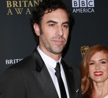 Famous Couple Isla Fisher and Sacha Cohen Have Fun in the Sun
