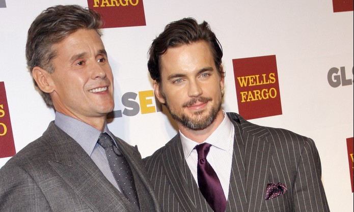 Hollywood's Gay Power Couples: Simon Halls and Matt Bomer