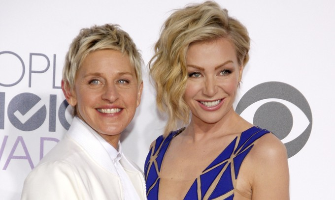 Cupid's Pulse Article: Celebrity News: Portia de Rossi Says Ellen DeGeneres Divorce Rumors 'Make Us Feel Accepted'
