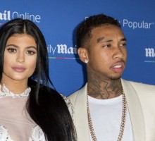 Kylie Jenner Attends 2015 VMA's with Celebrity Love Tyga