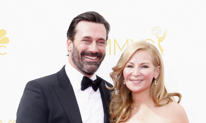 Cupid's Pulse Article: 'Mad Men' Creator Says Jon Hamm and Jennifer Westfeldt Are Having 'Tough Time' Post-Celebrity Break-Up