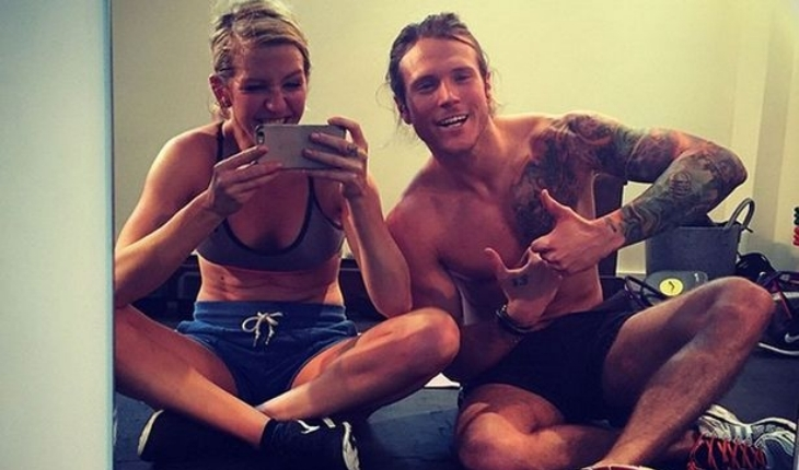 Famous Couples That Workout Together: Ellie Goulding and Dougie Poynter