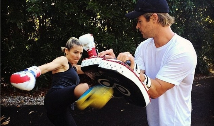 Cupid's Pulse Article: Celebrity Workout: Take a Swing with Boxing