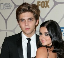Celebrity Couple Ariel Winter and Boyfriend Laurent Claude Gaudette Party After 2015 Emmys