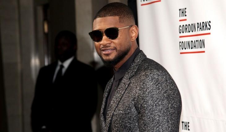 Cupid's Pulse Article: Celebrity Wedding: Usher Secretly Marries Longtime Girlfriend Grace Miguel