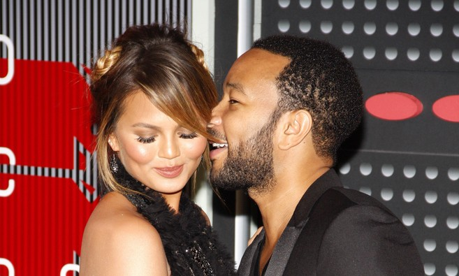 Chrissy Teigen and John Legend. Photo: David Gabber / PRPhotos.com