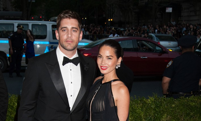 Cupid's Pulse Article: Aaron Rodgers Gushes Over Celebrity Relationship with Olivia Munn