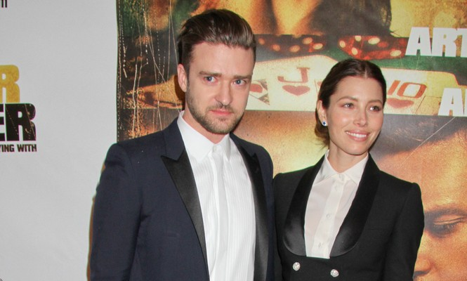 Cupid's Pulse Article: Celebrity Couple News: Justin Timberlake Calls Wife Jessica Biel a 'MILF'
