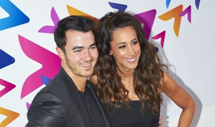 Kevin and Danielle Jonas. Photo: Seth El / PRPhotos.com