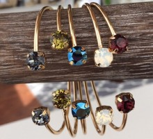 Product Review: Wear Isabelle Grace Jewelry's Stackable Gemstone Bangles on Your Next Date Night