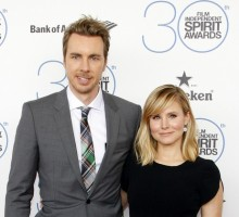 Celebrity Couple Kristen Bell & Dax Shepard Talk Disciplining Their Daughters