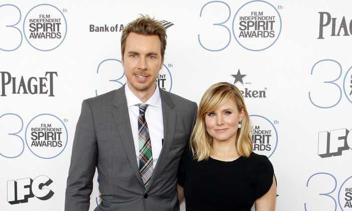 Cupid's Pulse Article: Celebrity Couple News: Kristen Bell Stands By Husband Dax Shepard After Relapse