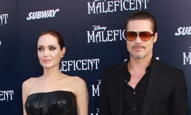 Cupid's Pulse Article: Celebrity Couple Brad Pitt and Angelina Jolie Hold Hands at 'By the Sea' Screening