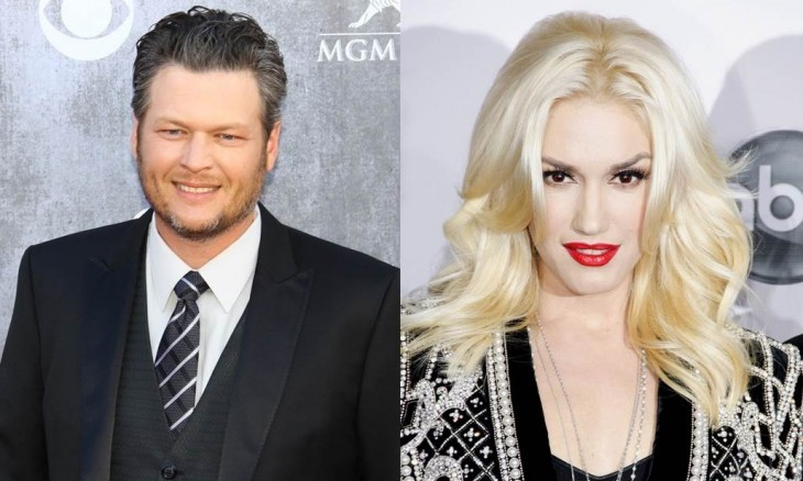 Cupid's Pulse Article: Celebrity Couple Blake Shelton & Gwen Stefani Crack Each Other Up While Driving