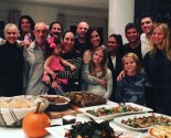 Former Celebrity Couple Gwyneth Paltrow and Chris Martin Spend Thanksgiving Together