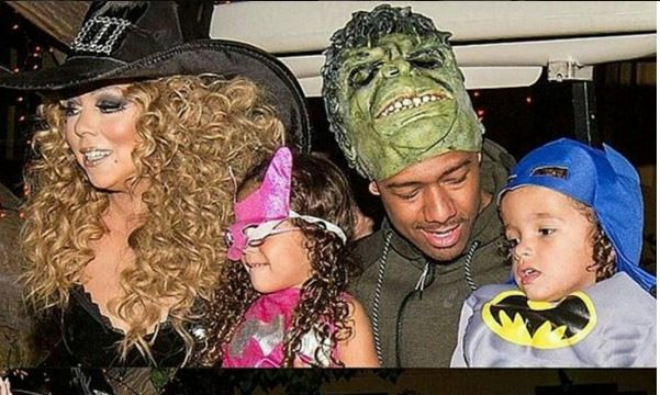 Cupid's Pulse Article: Former Celebrity Couple Mariah Carey and Nick Cannon Reunite to Celebrate Halloween with Kids