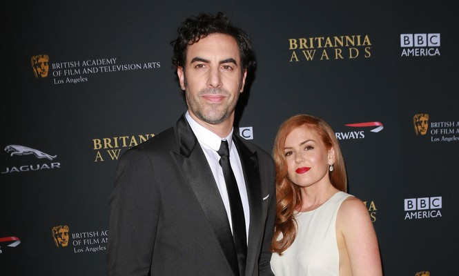 Cupid's Pulse Article: Celebrity Couple Sacha Baron Cohen & Isla Fisher Donate to Syrian Refugees