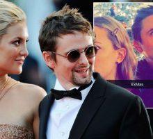 Former Celebrity Couple Kate Hudson & Matt Bellamy Reunite for Son's Birthday