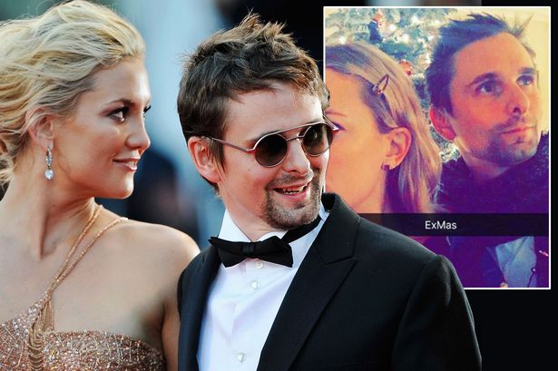 Cupid's Pulse Article: Former Celebrity Couple Kate Hudson & Matt Bellamy Reunite for Son's Birthday