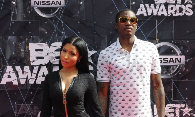 Cupid's Pulse Article: Celebrity Couple: Nicki Minaj & Meek Mill Spark Engagement Rumors Again