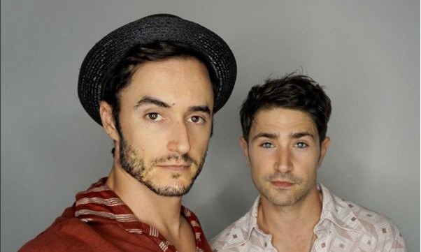 Cupid's Pulse Article: Celebrity Baby: Matt Dallas and Husband Blue Hamilton Adopt Little Boy