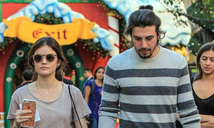 Cupid's Pulse Article: Celebrity News: Lucy Hale & BF Anthony Kalabretta Split