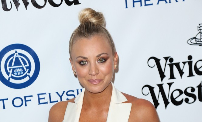 Cupid's Pulse Article: Celebrity News: Kaley Cuoco Jokes About Serious Relationship Same Day Celebrity Divorce is Finalized