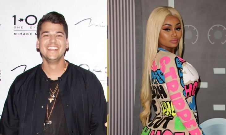 Cupid's Pulse Article: Celebrity Couple News: Rob Kardashian Resurfaces with Beard and Blac Chyna